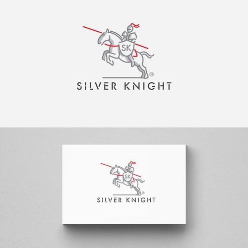 Silver Knight Logo design