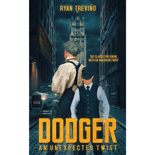 "Book cover for title ""DODGER"""