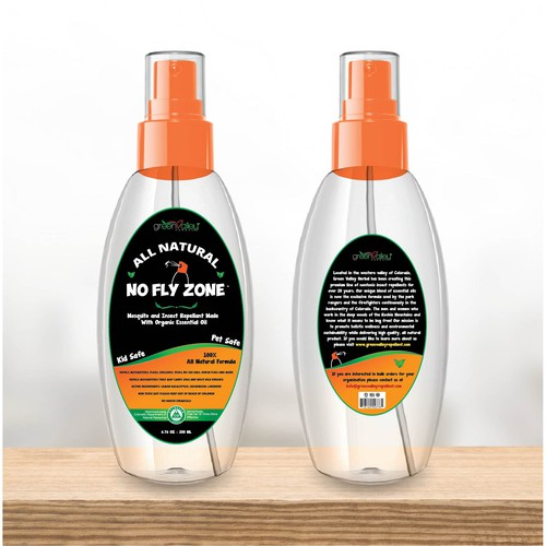 Labels For Insect Repellent Bottle