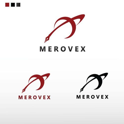 Sci fi Book logo concept