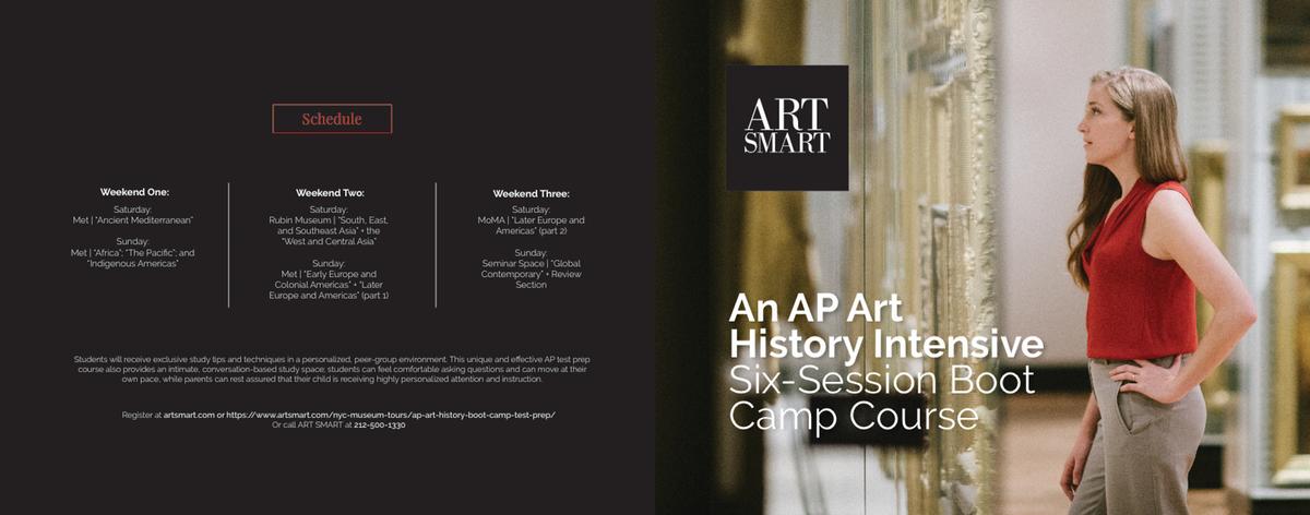 AP Art History brochure