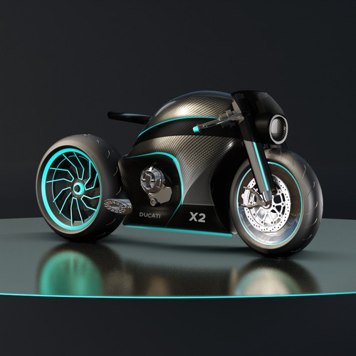Contemporary Motorcycle