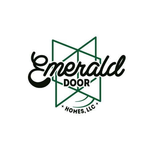 VINTAGE logo that's a gem! Emerald Door Homes, LLC needs a logo that's cool & memorable!