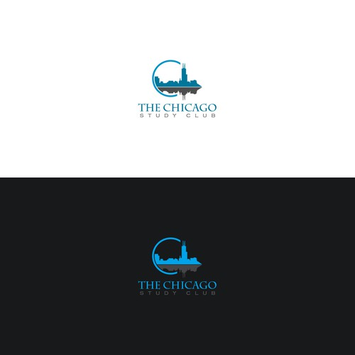 Logo Concept for a dental study club in chicago