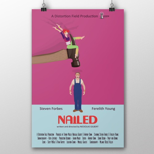 Nailed ~ short movie poster