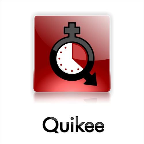 Sleek, modern logo for dating app