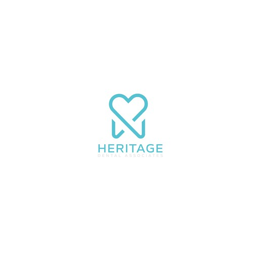 Logo for Heritage Dental