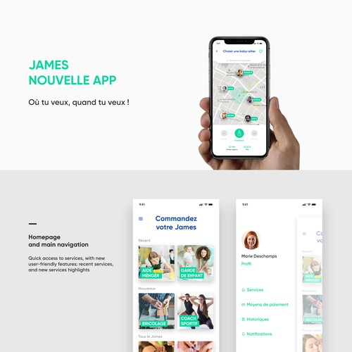 Community services app