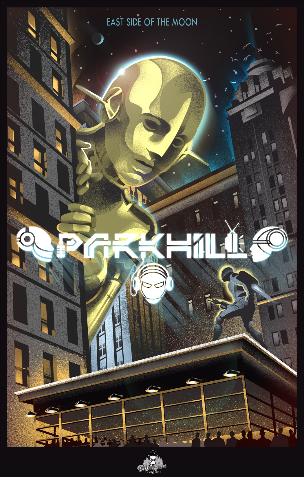 Create a Parkhill concert poster