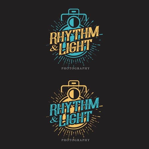 beautiful logo Rhythm & Light Photography