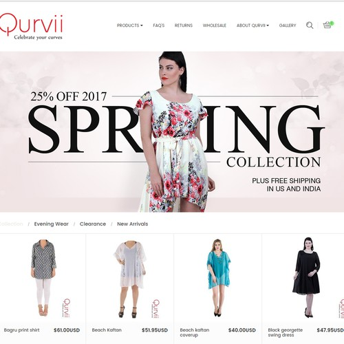Fashion Website Slider Banners