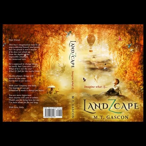 """Book cover for """"LandZcape"""""""