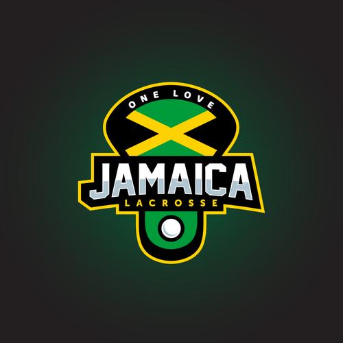 Jamaica Lacrosse Team Logo