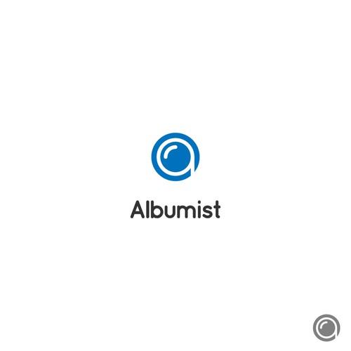 simple logo for photo album social stream