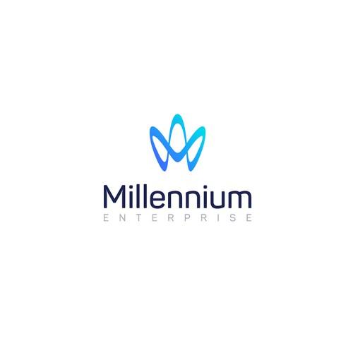 Logo for Millennium Enterprise