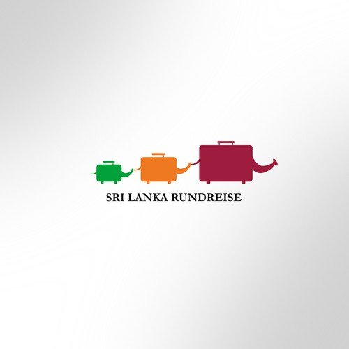 Winning Entry Version 2/Logo for Travel Agency organizing tours to Sri Lanka.