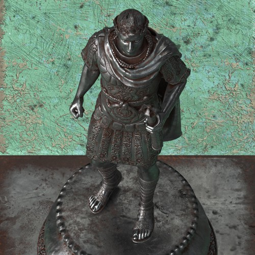 3D Roman Chess Set