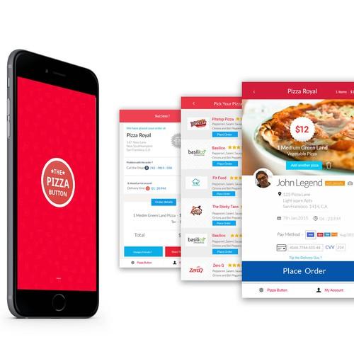Design this Swipe-to-Eat Pizza App :^D