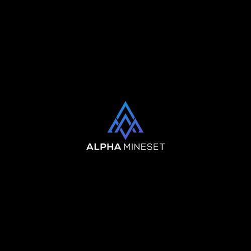 logo design for Alpha Mineset