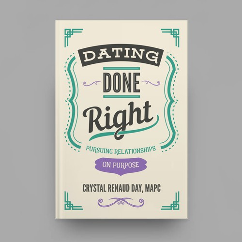 Retro Cover for Dating Book