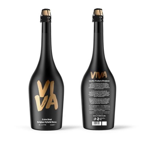 Viva Extra Brut Belgian Hynrid Brew