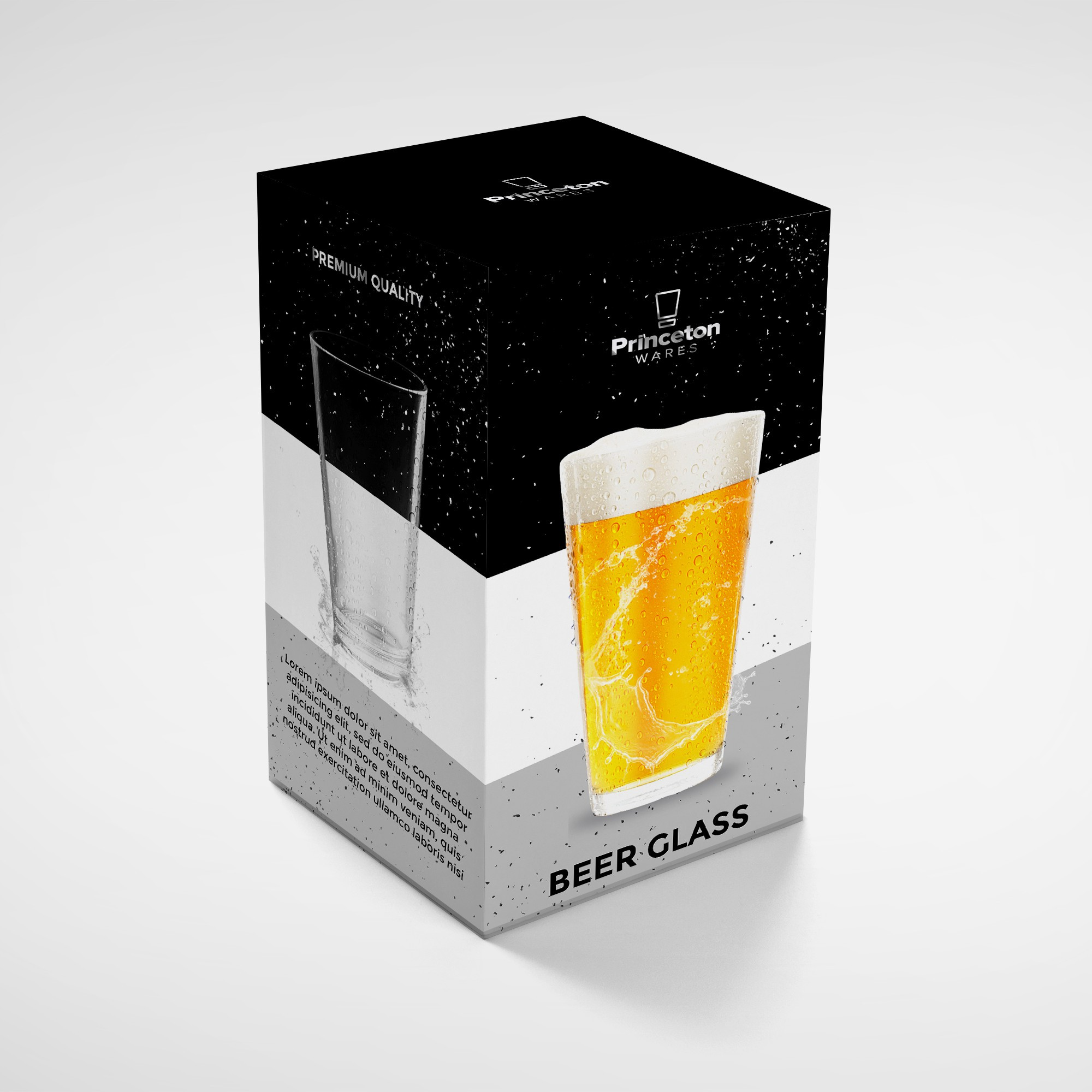 Package for Beer Glass