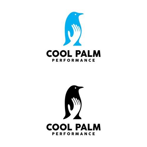 penguin hand logo