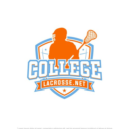 Logo for a new College Lacrosse website