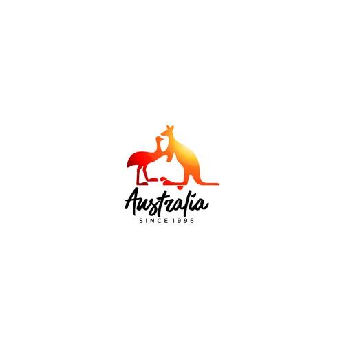 Clever logo for Australia