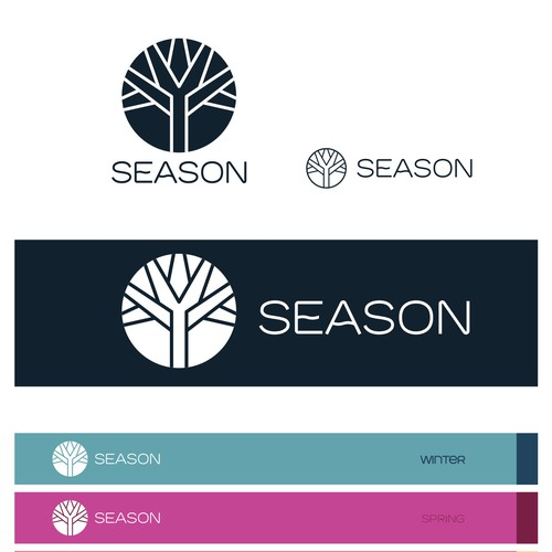 Logo and identity for SEASON