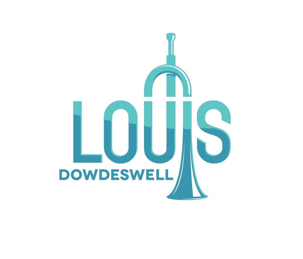 Designing a logo for Louis Dowdeswell (trumpet player)