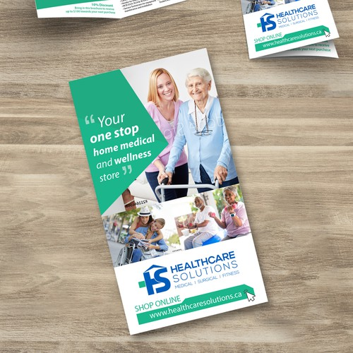 Modern health-care brochure