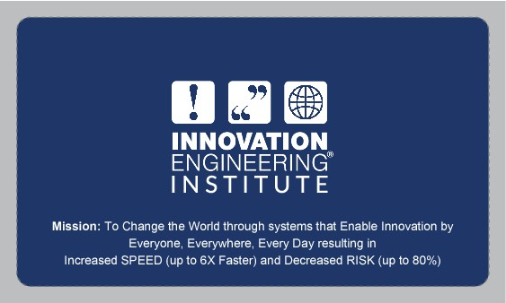 Need a sharp business card for Innovation Institute