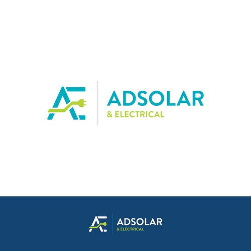 Logo design for Adsolar & Electrical