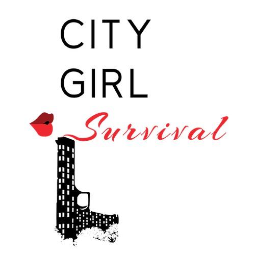 City Girl Survival Logo Design #1