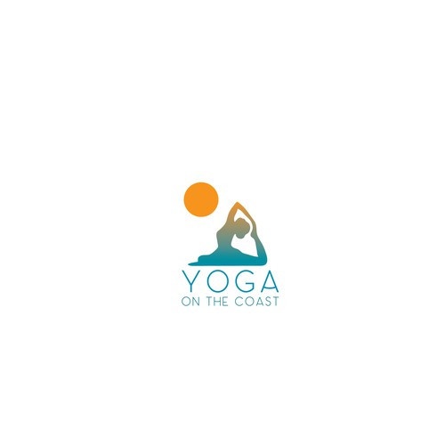 Concept logo for a Yoga instructor