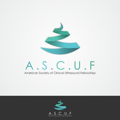 An exciting logo for the American Society of Clinical Ultrasound Fellowships