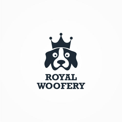 Logo for royal woofery