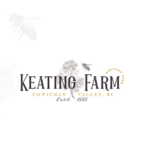 Logo proposition for a heritage farm