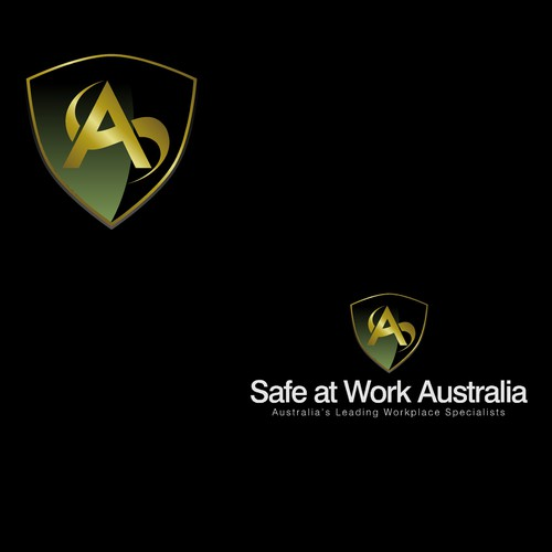 logo for safe at work australia
