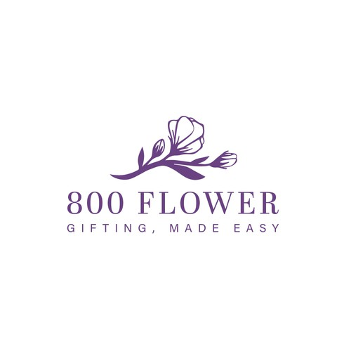 Flower delivery logo