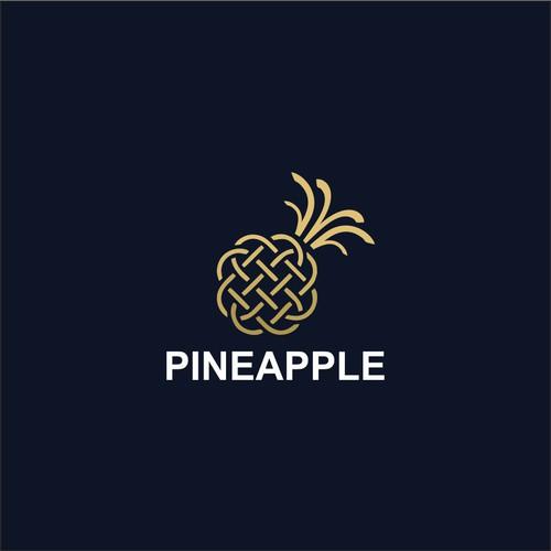 Pineapple Logo Design