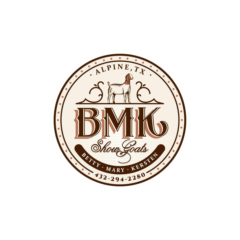 BMK Show Goats Logo