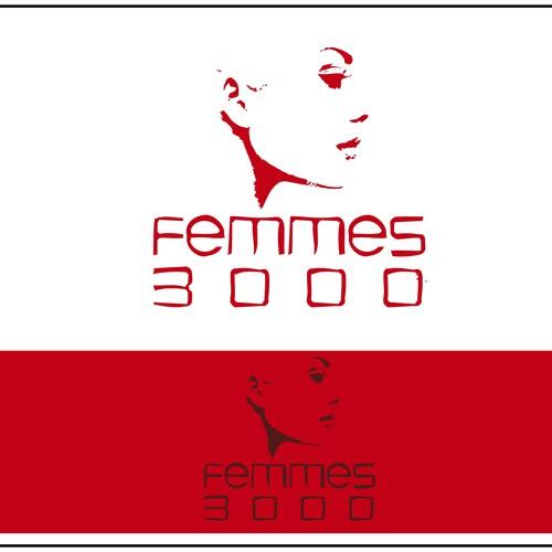 """Logo pour Association """"Femmes 3000"""""""