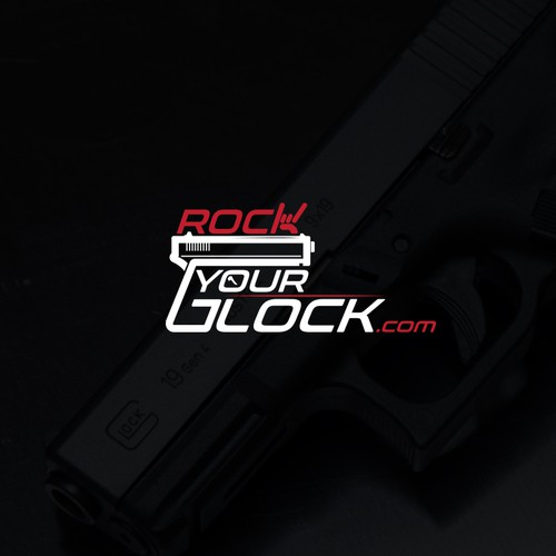 "Logo for ""Rock Your Glock.com"""