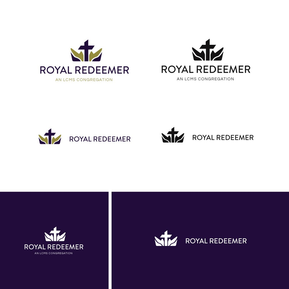 fresh and simple logo for growing multi-generational church