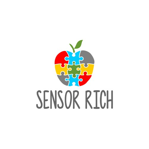 Logo for educational toys for children with autism