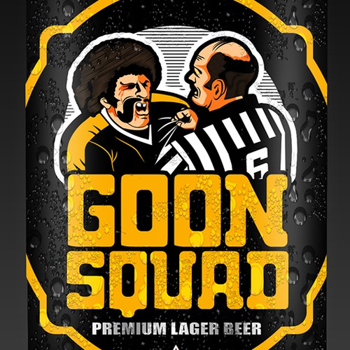 New product label wanted for GOON SQUAD Beer