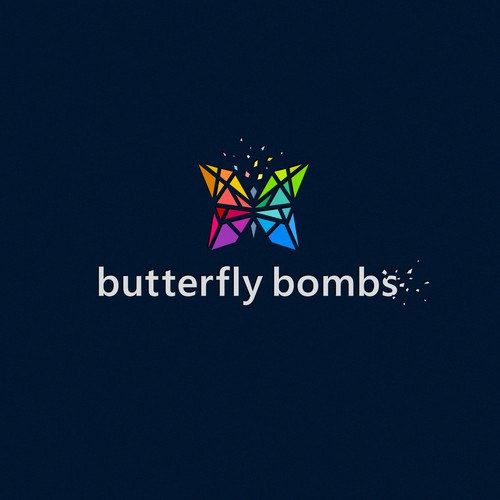 «Butterfly Bombs» music logo