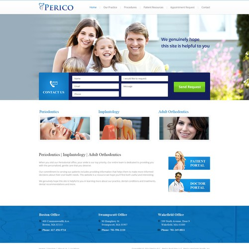 Perico Website Design